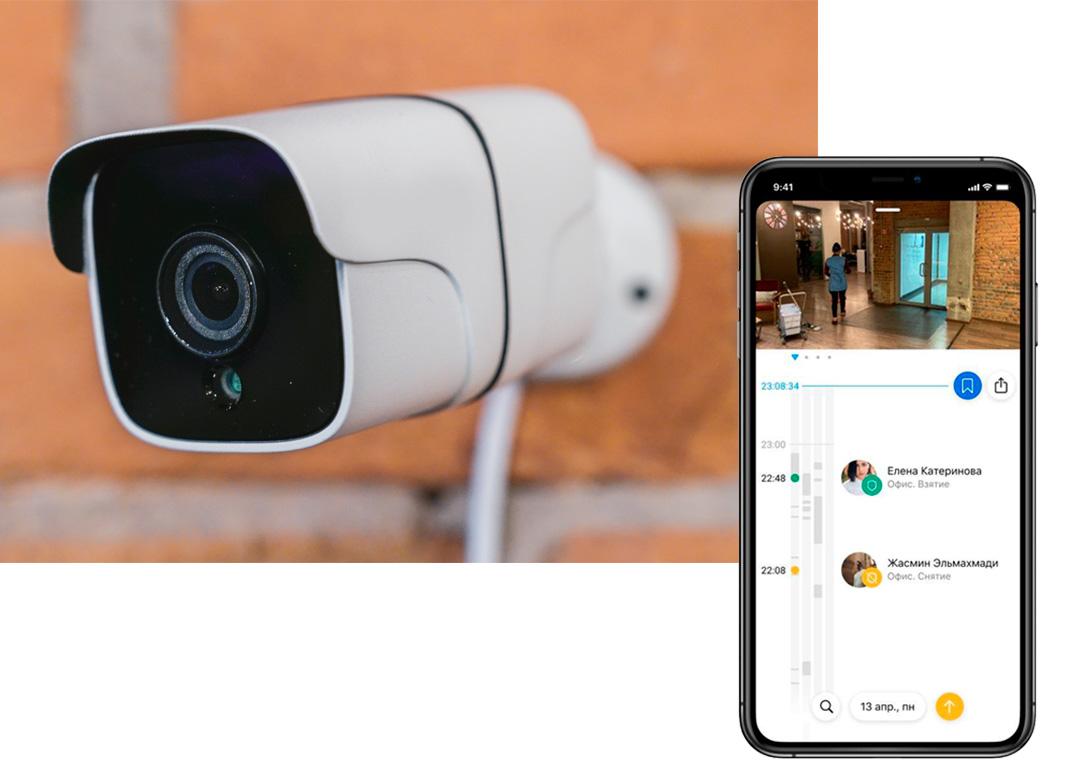 видеоконтроль территории предприятия